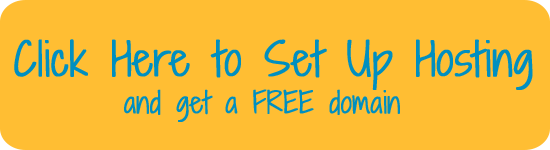 setup hosting and get free domain