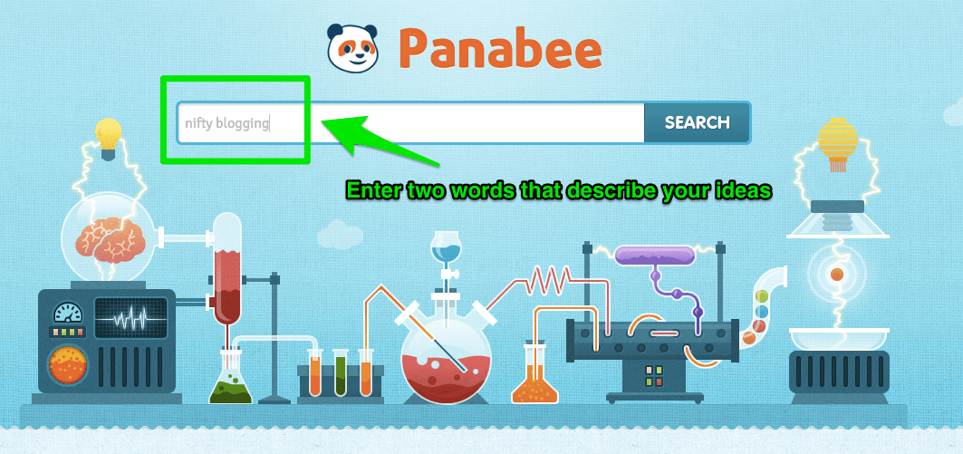 Panabee Homepage Screenshot