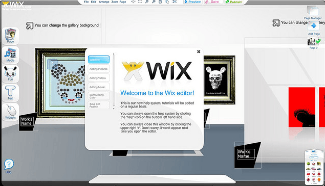 Free Websites from Wix