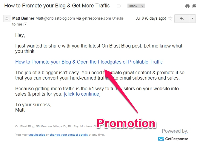 How to Promote Your Blog & Increase Traffic | On Blast Blog