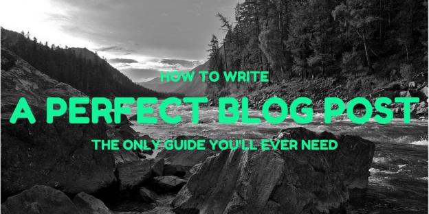 A Perfect Blog Post