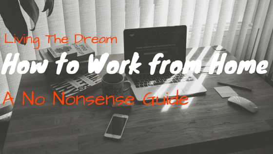 how to work from home header