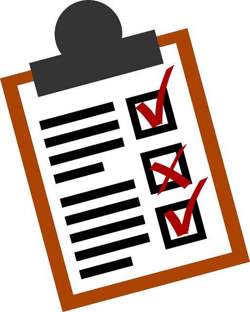 checklist for blogging