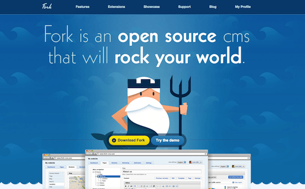 Fork Homepage