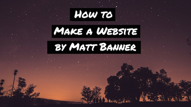 make a website completely free