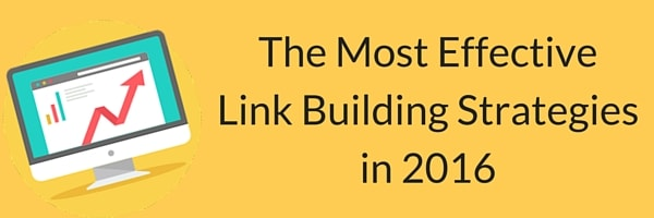 link building strategies in 2016