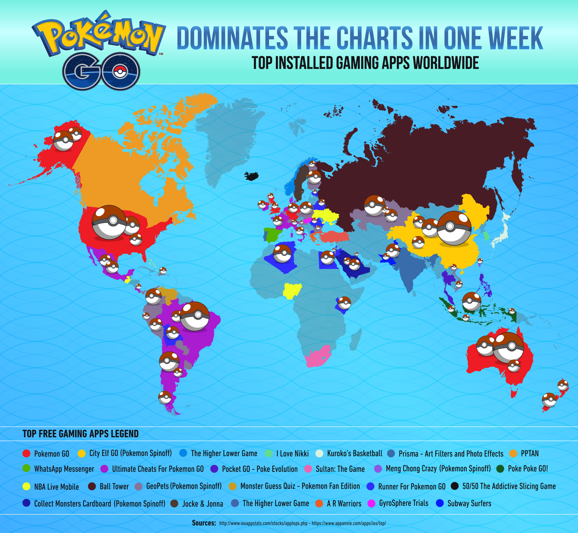Pokemon Go World Domination