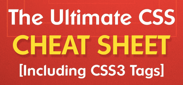 CSS Cheat Sheet Introduction