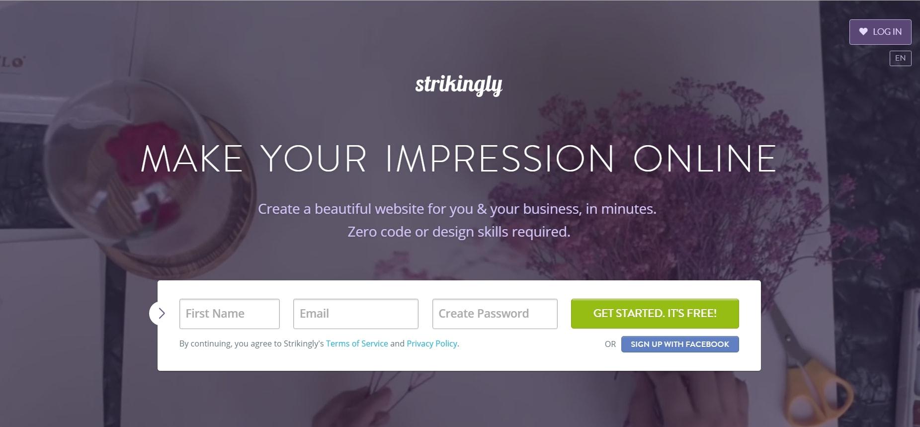 strikingly-website-builder