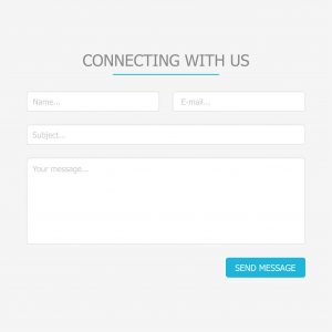 blog contact form