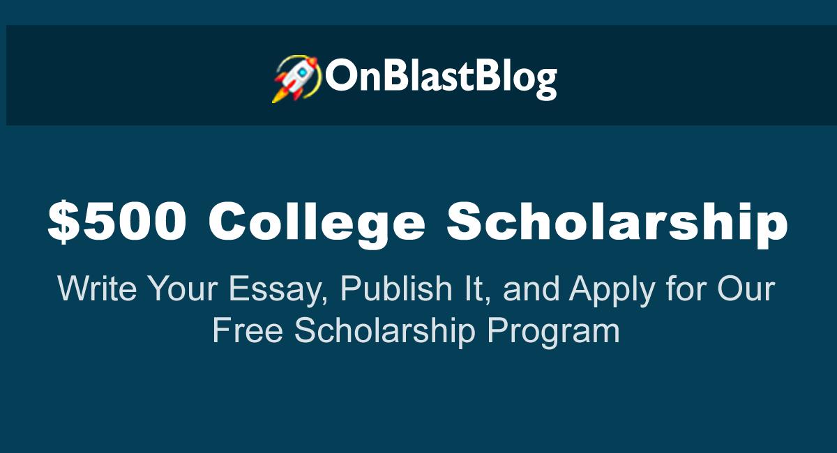 $500 scholarship