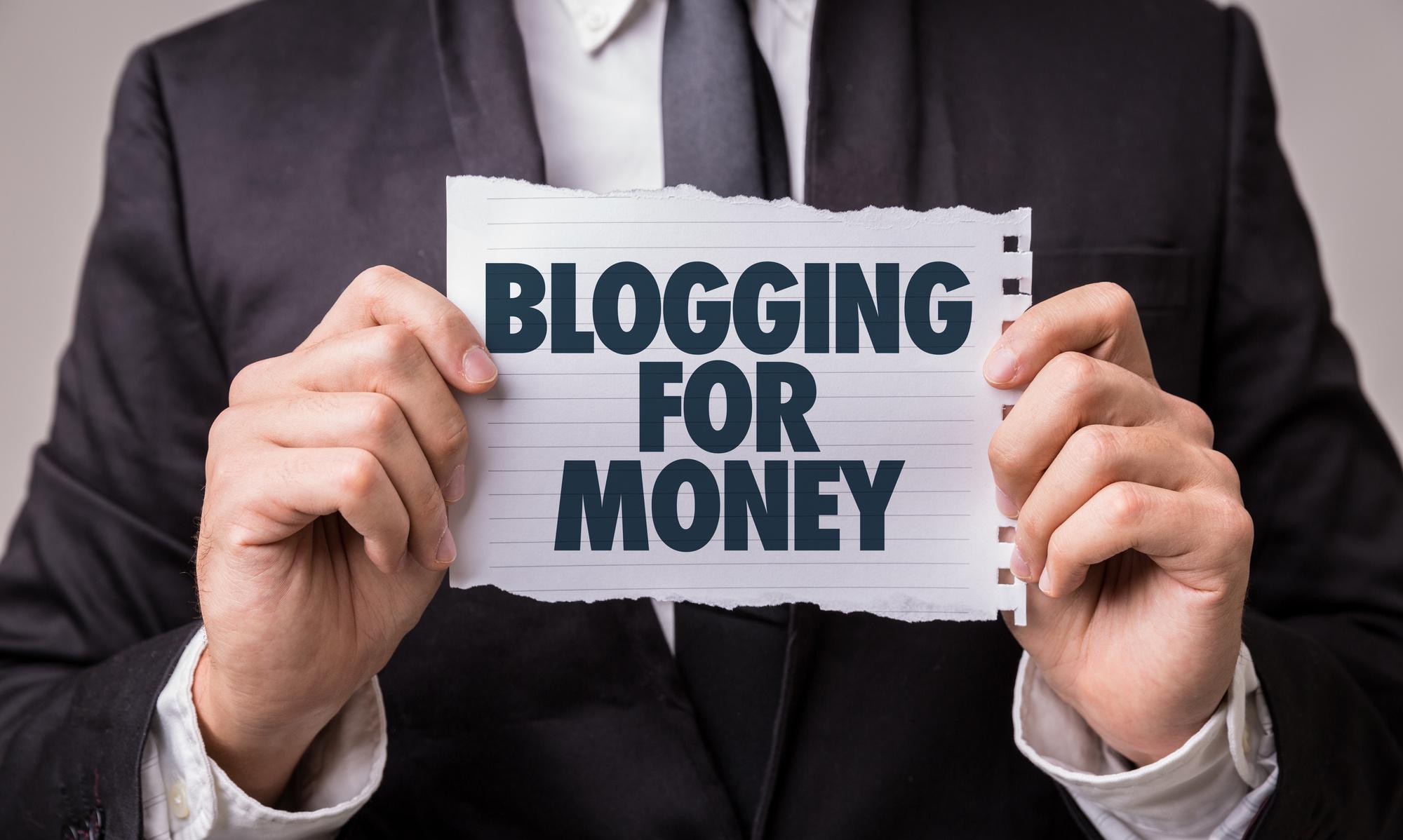 monetizing a blog