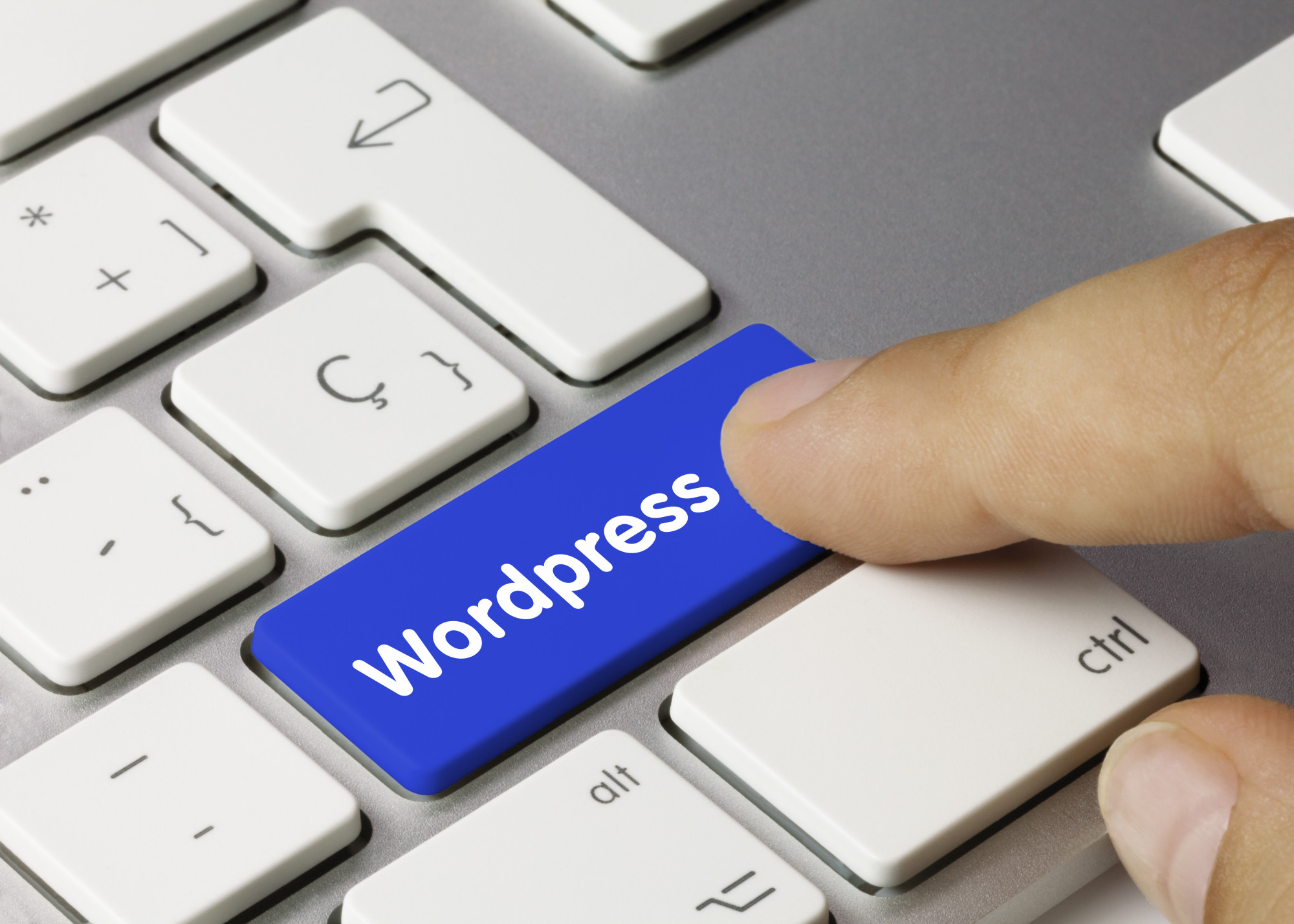 wordpress button on keyboard