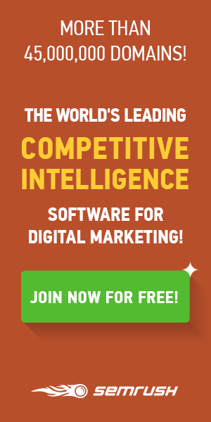 SEMRush SEO Software Banner