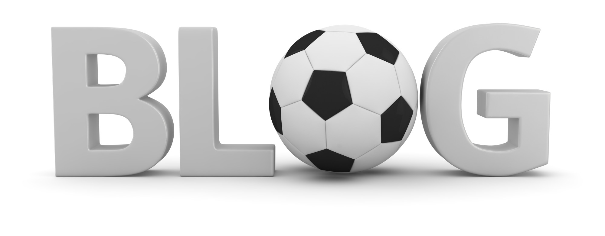 blog with soccer ball