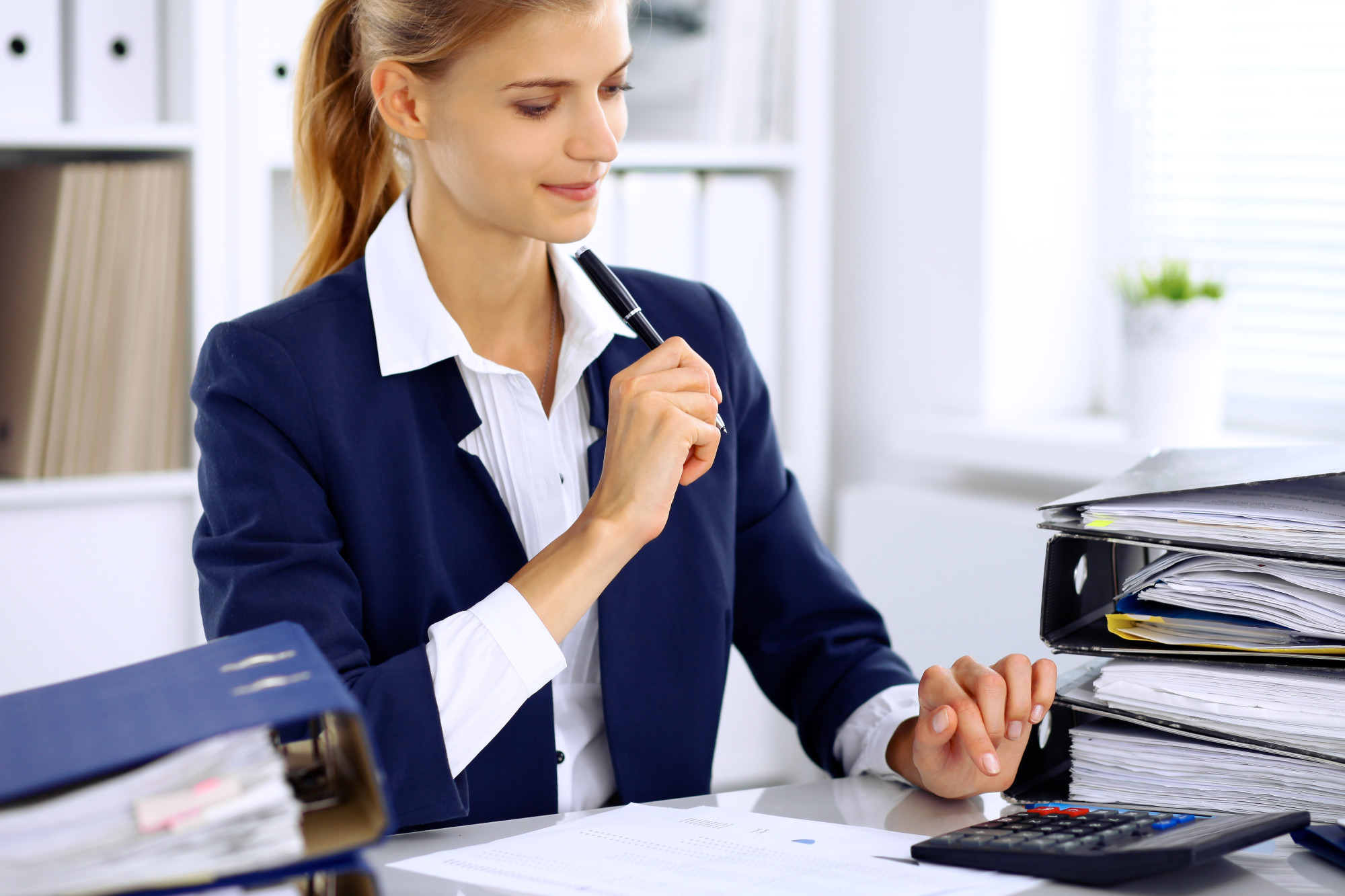 Bookkeeper for a Small Business